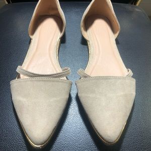 Charlotte Russe Women's Point Toe Slip On Shoes